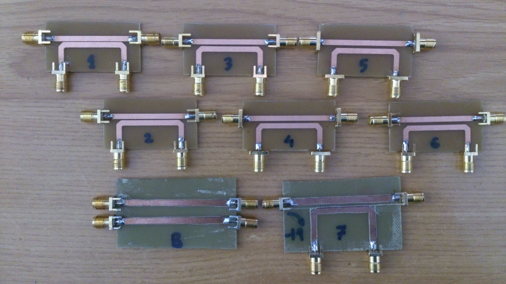 1296 MHz DIRECTIONAL COUPLERS