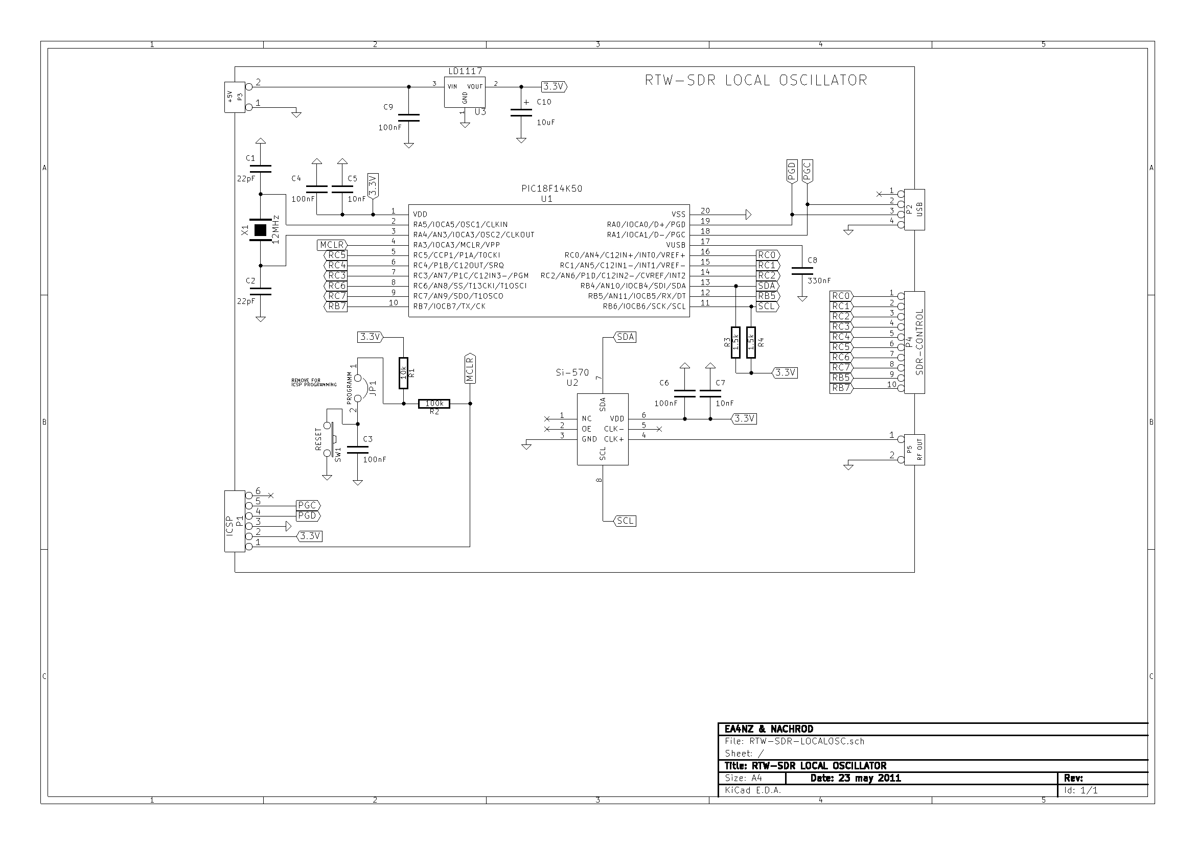 Sdr Hf Receiver Design Jpeg This Is One Application Circuit Of L585 If You Need More Circuits