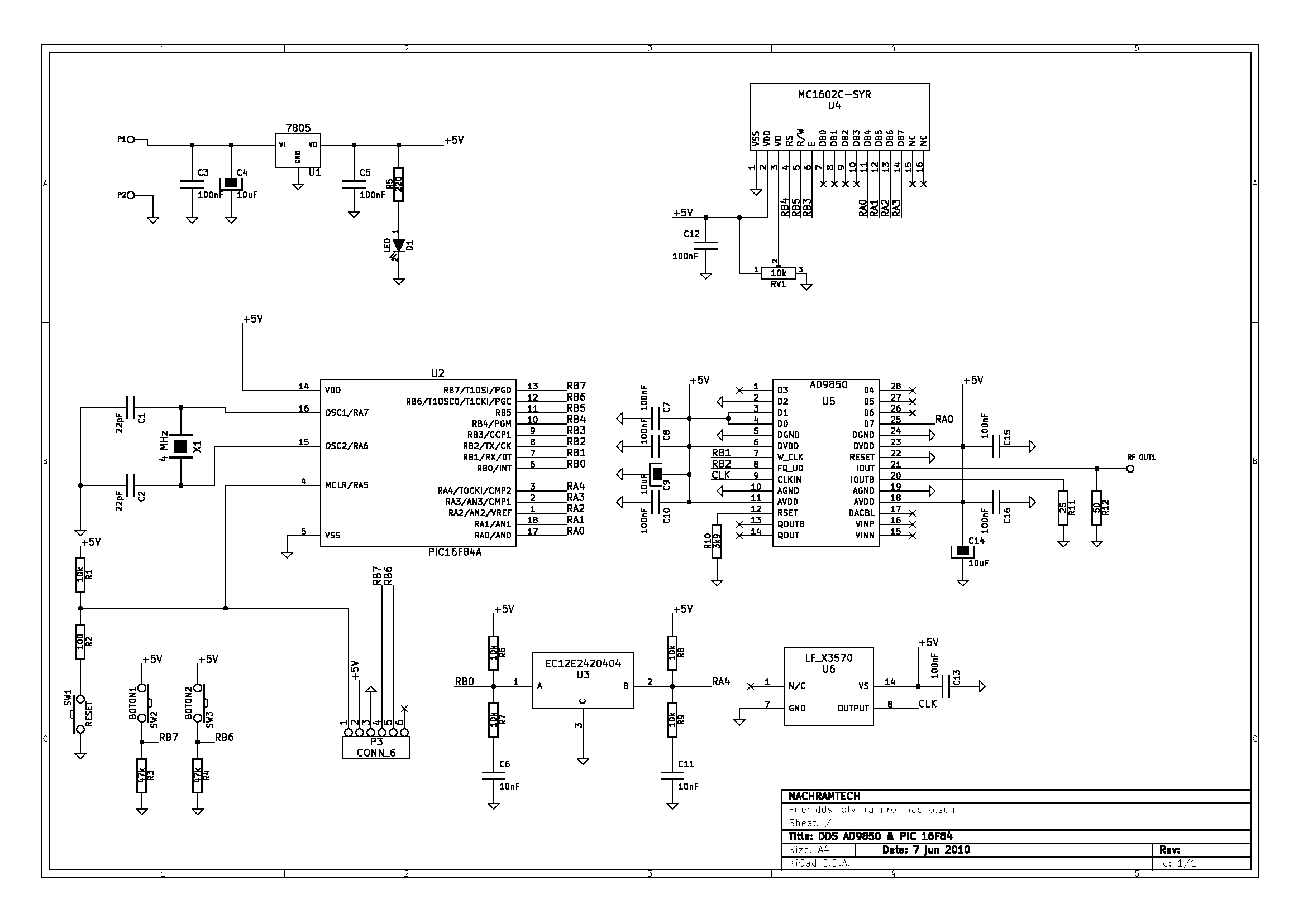Sdr Hf Receiver Design Low Pass Audio Filter Circuit We Are Using An Old Ad9850 Dds Chip